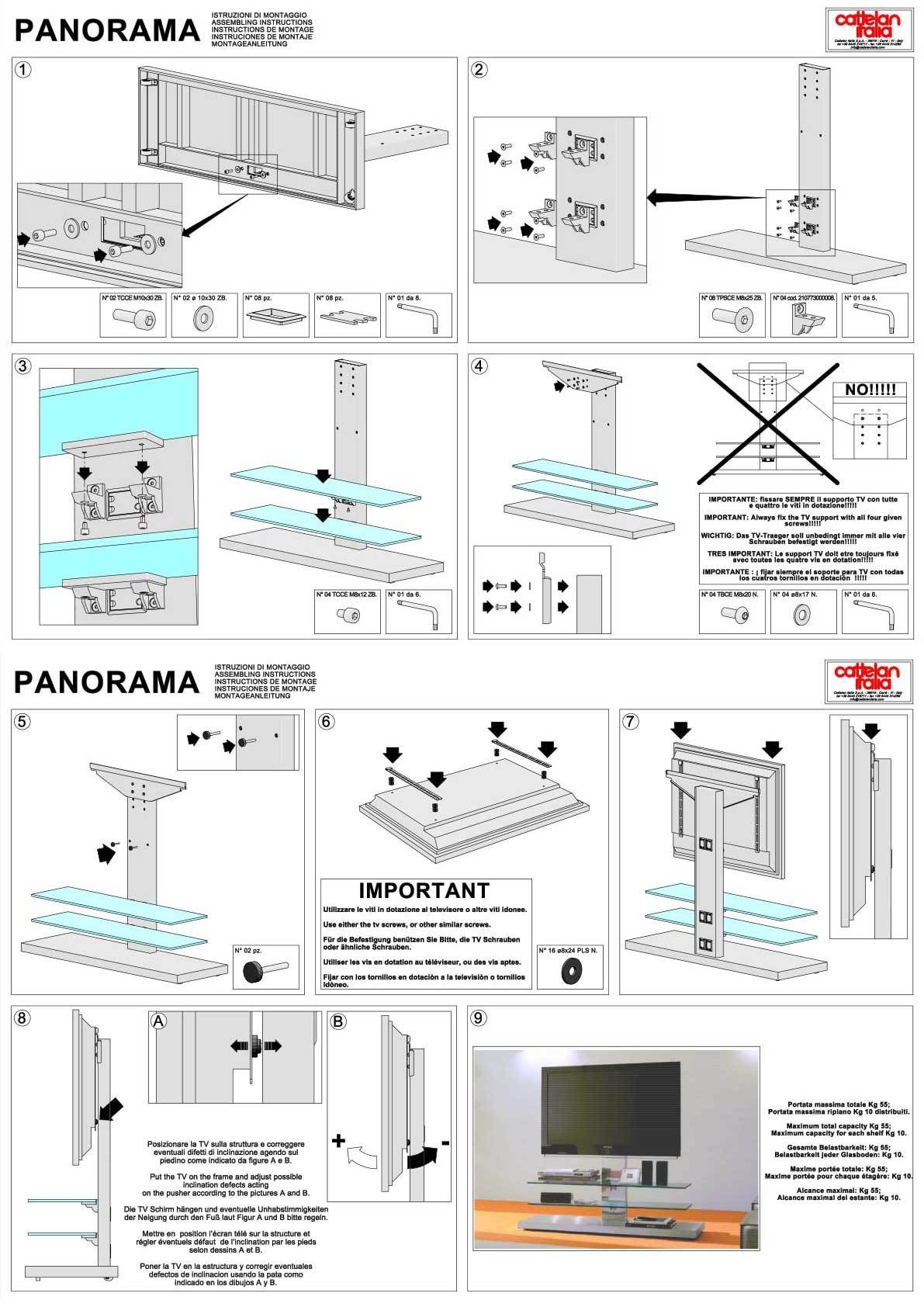 panorama tv m bel sideboards wohnw nde who 39 s perfect. Black Bedroom Furniture Sets. Home Design Ideas