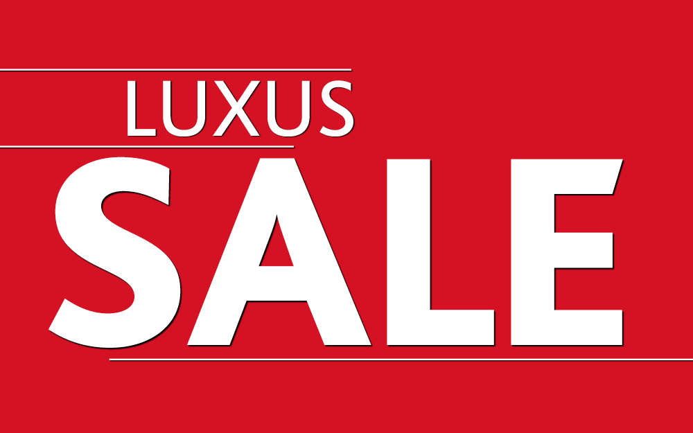 f8b03daa8e404 Luxus-Sale: bis zu -44%!