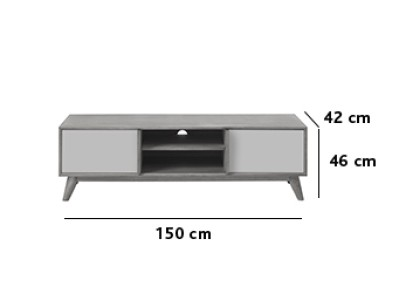 salo lowboard tv m bel sideboards wohnw nde who 39 s. Black Bedroom Furniture Sets. Home Design Ideas