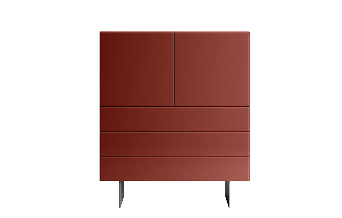 MATERIA 1016 GLASS Highboard