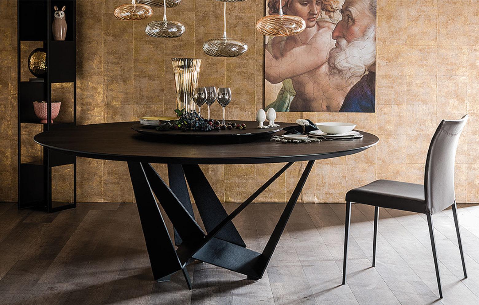 skorpio round esstische tische st hle who 39 s perfect. Black Bedroom Furniture Sets. Home Design Ideas