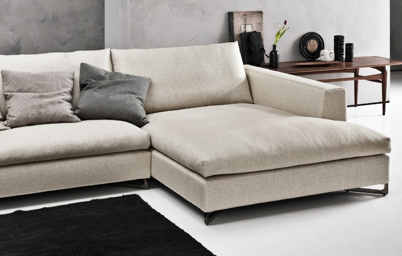 No logo basic ecksofa ecksofas polsterm bel who 39 s for Sofa italienisch