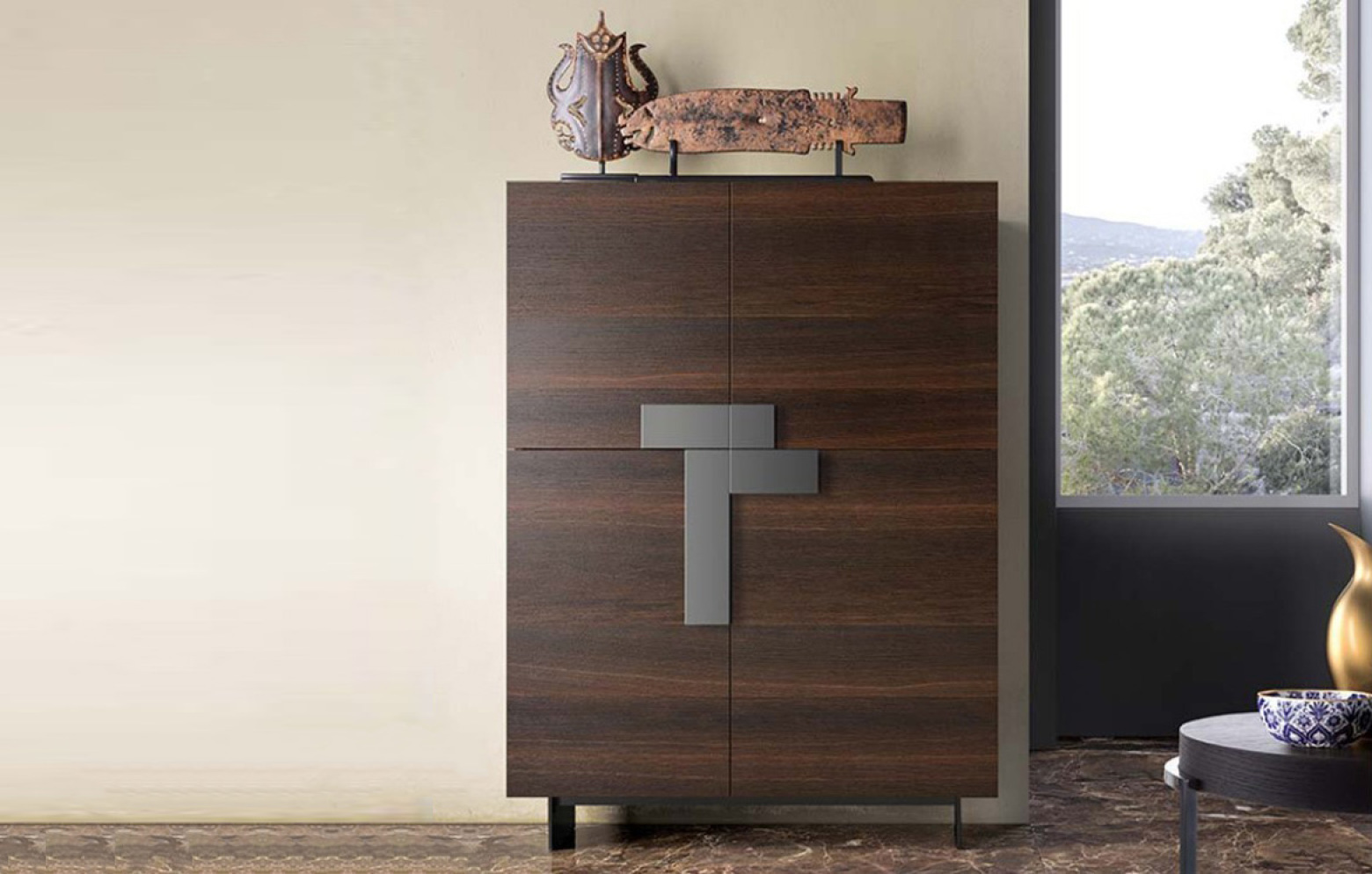 ginevra highboard sideboards sideboards wohnw nde. Black Bedroom Furniture Sets. Home Design Ideas