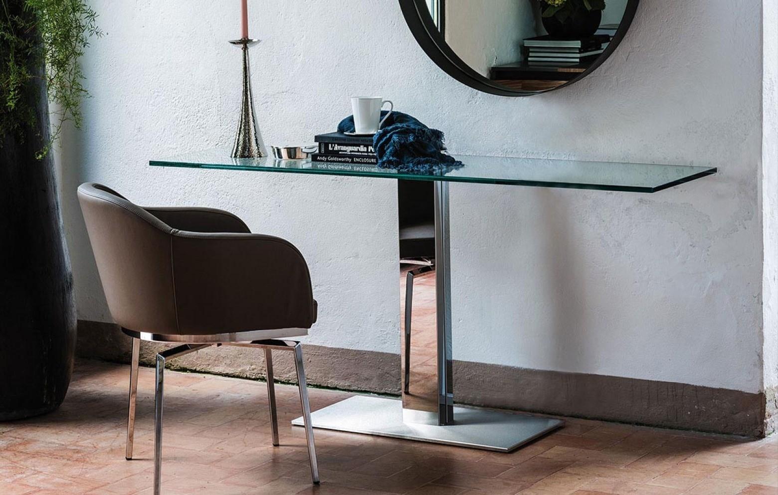 elvis konsole glas konsolen sideboards wohnw nde who 39 s perfect. Black Bedroom Furniture Sets. Home Design Ideas