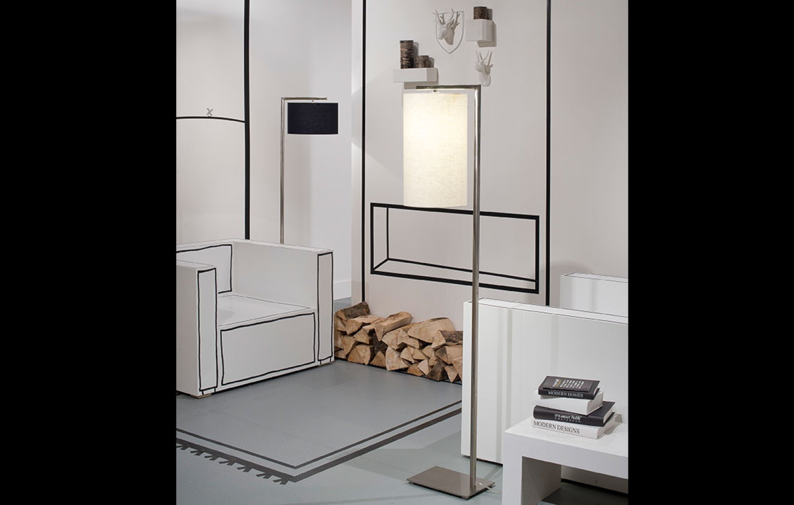 stehlampe boston g nstig bei who 39 s perfect kaufen. Black Bedroom Furniture Sets. Home Design Ideas