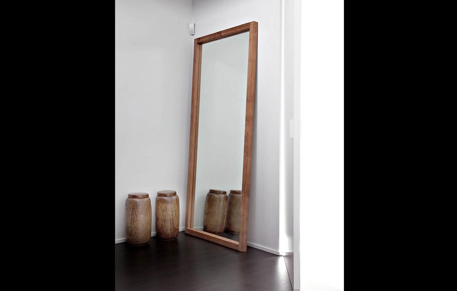 teak light frame spiegel spiegel kleinm bel accessoires who 39 s perfect. Black Bedroom Furniture Sets. Home Design Ideas