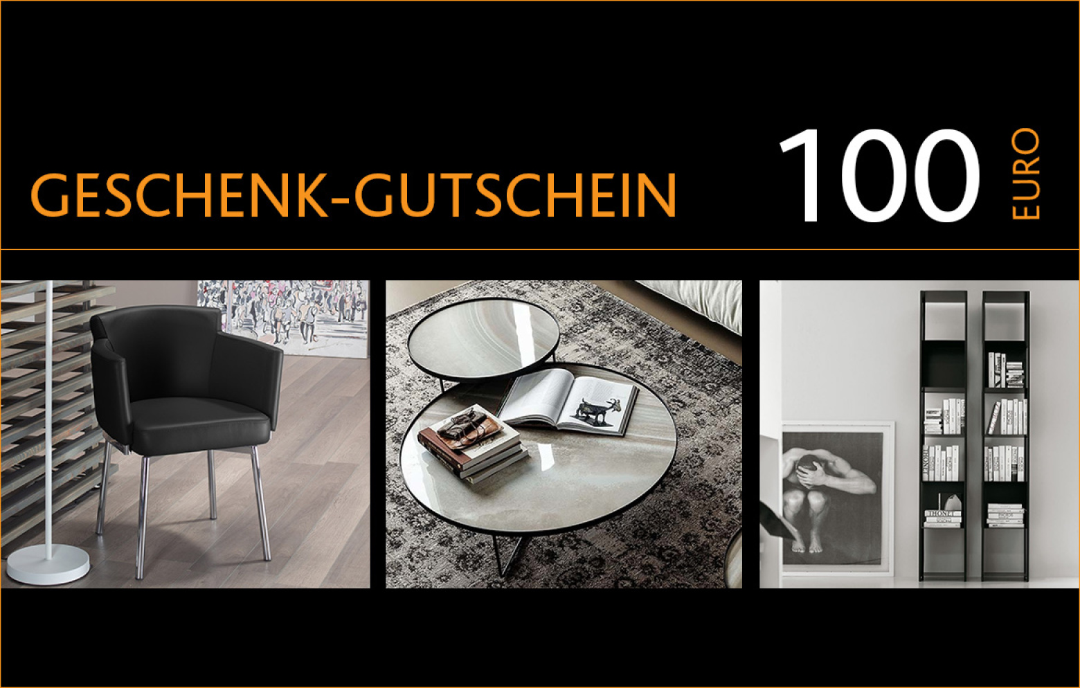 100 euro gutschein gutscheine aktionen who 39 s perfect. Black Bedroom Furniture Sets. Home Design Ideas