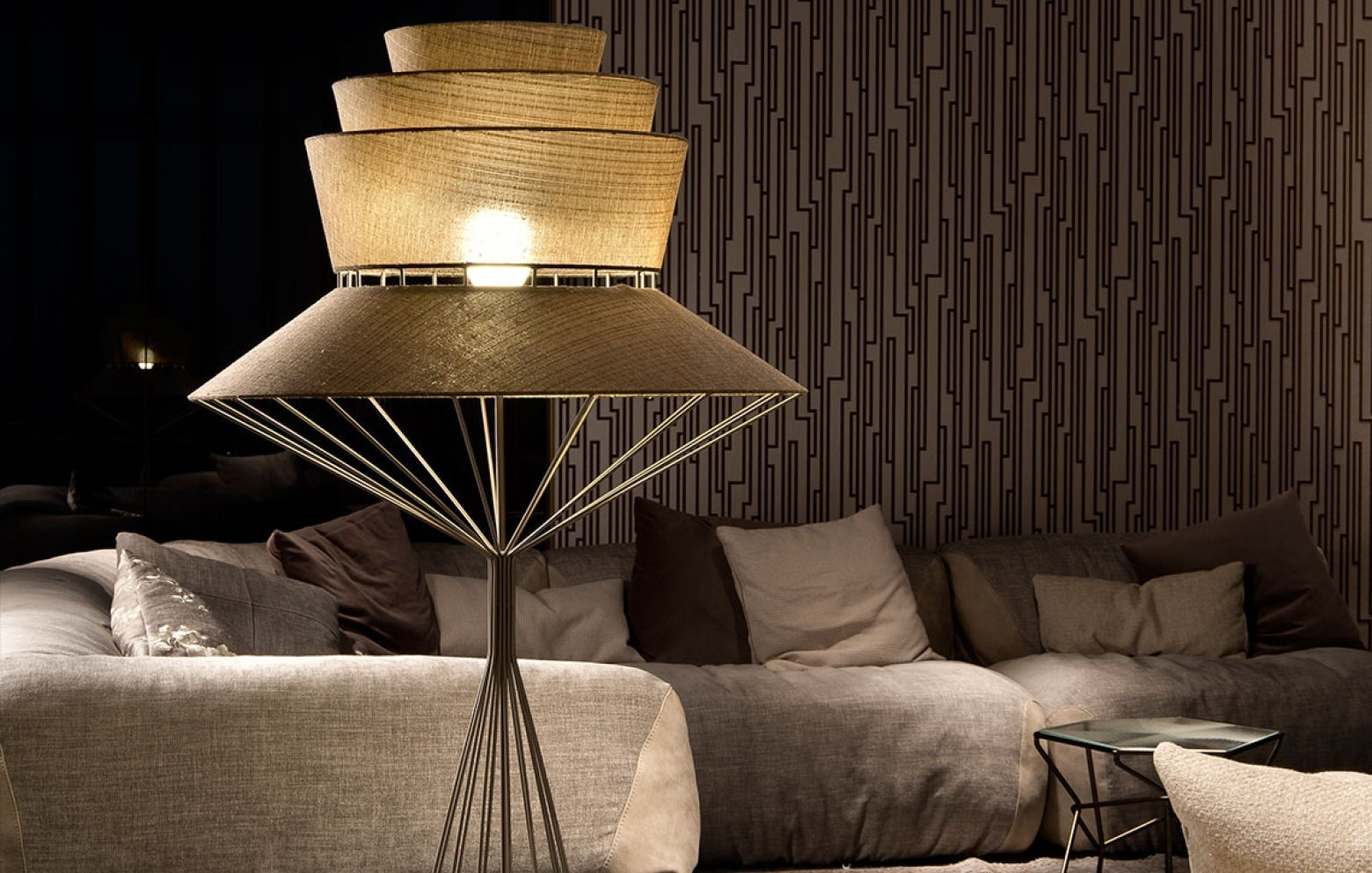 bolero stehlampe lampen kleinm bel accessoires who 39 s perfect. Black Bedroom Furniture Sets. Home Design Ideas