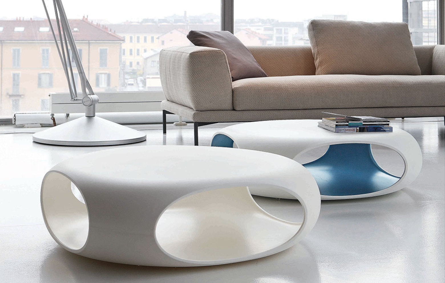 PEBBLE  Couchtisch modern von Bonaldo
