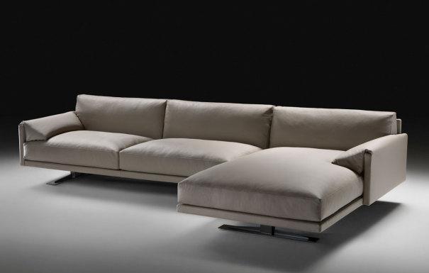 Eckledersofa  Designer-Ledersofas online günstig kaufen!