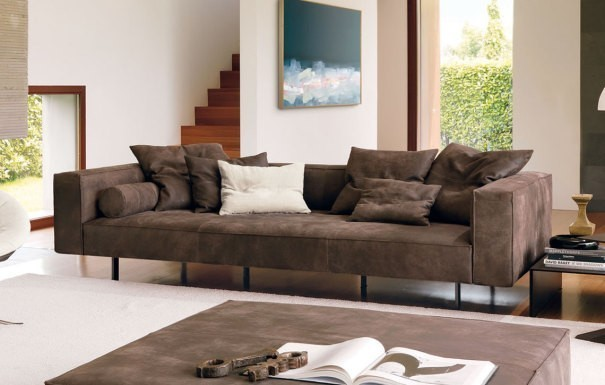 Designer couch leder  Designer-Ledersofas online günstig kaufen!