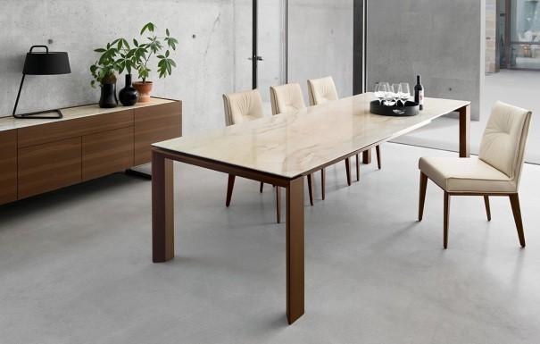 Designer esstische for Esstisch marmor ausziehbar