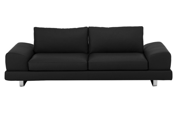 Modern ledersofa in weiss for Designer ledersofa outlet