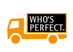 Versand durch die WHO´S PERFECT Spedition